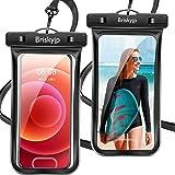 【2021最新版&2枚セット】 防水ケース スマホ用 指紋認証/Face ID認証対応 IPX8認定 完全保護 防水携帯ケース 完全防水 タッチ可 顔認証 気密性抜群 完全防水iPhone 12 Pro/iPhone 11 Pro Max/iPhon