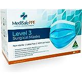 Level 3 Surgical Face Mask - Medical Grade - Australian Made - Ear loop - 50 Pack - TGA Registered - Superior Protection & Co
