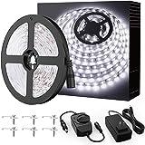 Onforu LED Vanity Mirror Lights Kit, 16.4ft / 5m 300 LEDs Strip Lights for Make up Table, 6000K Daylight White Under Cabinet