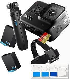 【GoPro公式限定】 GoPro HERO8 Black ホリデーバンドル CHDRB-801-FW + GoPro公式ストア限定非売品ステッカー 【国内正規品】