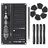 Jakemy 116 in 1 Precision Screwdriver Set, with 96 Bits Professional Magnetic Repair Tool Kit with Handy Case for Laptop/Tabl