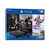 Newest Flagship Sony Play Station 4 1TB HDD Only on Playstation PS4 Console Slim Bundle - Included 3X Games (The Last of Us,