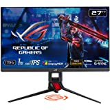 "ASUS ROG Strix XG279Q 27"" HDR Gaming Monitor, 1440P WQHD (2560 x 1440), Fast IPS, 170Hz, G-SYNC Compatible, Extreme Low Motio"