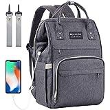Mokaloo Diaper Bag Backpack, Large Baby Bag, Multi-Functional Travel Bag