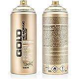 Montana Cans Goldchrome Acrylic Spray Paint, 400ml