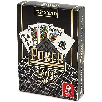 カジノ仕様ポーカートランプ黒