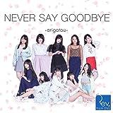 NEVER SAY GOODBYE ~arigatou~(Type-B)(DVD付)