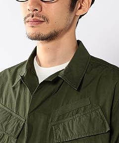 Cotton Field Jacket 7560-610-6020: Olive