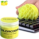 Keyboard Cleaner Universal Cleaning Gel for PC Tablet Laptop Keyboards, Car Vents, Cameras, Printers, Calculators from ColorC