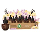 Botanica by Air Wick Plug in Scented Oil, 10 Refills, Himalayan Magnolia and Vanilla, Air Freshener, Eco Friendly, Essential