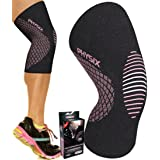 Physix Gear Knee Support Brace - Premium Recovery & Compression Sleeve For Meniscus Tear, ACL, MCL Running & Arthritis - Best