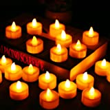 Flameless Candles LED Tea Light Candles With Battery-Powered wedding Candles Decorations For Parties Events Tealight Candles