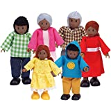 Hape Happy Family African American Toy (E3501)