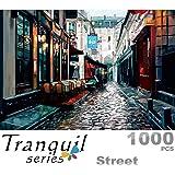 Ingooood- Jigsaw Puzzle 1000 Pieces- Sneak Peek Series-Street -IG-0474 Entertainment Toys for Adult Special Graduation or Bir