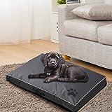 PaWz Pet Bed Mattress Dog Cat Pad Mat Summer Winter Cushion Pillow Size M Black Black M x 1pc