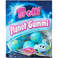 Trolli トローリ 地球グミ プラネットグミ【内容量up】1袋 94g 18.8g×5個入(1個増量)韓国版[並行輸…