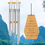 kullder Memorial Wind Chimes, Personalized Chimes, Sympathy Chimes, Wind Chimes for Loss of Love One, Large Wind Chimes, Outd