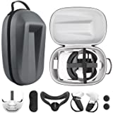 Esimen VR Accessories Kit for Oculus Quest 2 Travel Case,Halo Strap, Face Mask, Touch Controllers Cover Straps / Oculus Quest