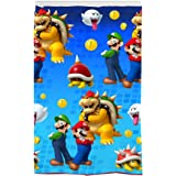 "Franco Kids Room Darkening Window Curtain Panel, Microfiber, Super Mario, 42"" x 63"""