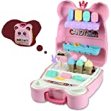 WQ Children's Toy Candy Backpack, Early Education Enlightenment For Boys And Girls, Kitchen Accessories Toys, Cookware Access