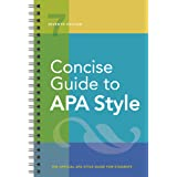 Concise Guide to APA Style 7ed: Seventh Edition (Newest, 2020 Copyright)