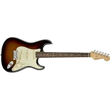 Fender エレキギター American Elite Stratocaster®, Ebony Fingerboard, 3-Color Sunburst
