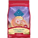 Blue Buffalo Indoor Health Natural Adult Dry Cat Food, Salmon & Brown Rice 7-lb