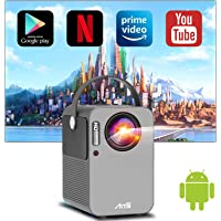 モバイルプロジェクター 小型 Android TV搭載 Artlii play WiFi 双方向Bluetooth5.0…