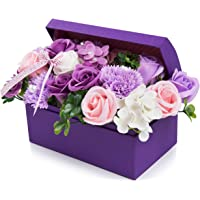 フラワー 創意ジュエリーギフトボックス 誕生日 母の日 記念日 先生の日 バレンタインデー 昇進 転居など最適としてのプ…
