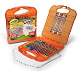 Crayola; Twistables; Colored Pencils Kit; Art Tools; 25 Colored Pencils, 40 Sheets of Paper and Storage Case
