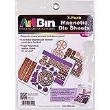 """ArtBin Magnetic Sheets 3/Pkg-7.325""""X9.125"""" (並行輸入品)"""