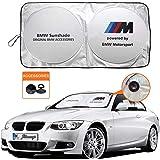 for BMW Sunshade Windshield Visor Cover for BMW Window Sun Shade UV Protect Car Window Film for Most E81 E82 E85 E86 E87 E88