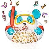 Bathtub Bubble Machine, Bubble Bath Toys with 12 Songs, Bath Bubble Marker Shower Toys for Kids, Blows Bubbles 1000+ per Minu