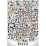 テンヨー ジグソーパズル ピクサー キャラクター/グレート コレクション 1000ピース (51x73.5cm)