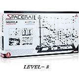 スペースレール(SPACE RAIL) 無限ループ スペースレール パズル 知育 脳トレ ジェットコースターのような未来的知育玩具 インテリアとしても存在感大 (レベル8)