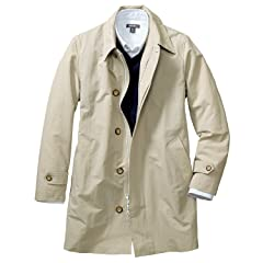 Trench Coat 019714: Pumice