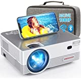 Native 1080P WiFi Projector, DBPOWER Projector 7500L Full HD Outdoor Projector with Carrying Case, Home Projector w/ Keystone