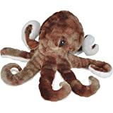 Wild Republic 21587 Octopus Plush, Stuffed Animal, Plush Toy, Gifts for Kids, Sea Critters, 8""
