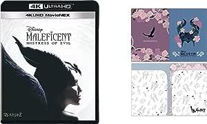 【Amazon.co.jp限定】マレフィセント2 4K UHD MovieNEX(オリジナルWポケットクリアファイル付き) [4K ULTRA HD+ブルーレイ+デジタルコピー+MovieNEXワールド] [Blu-ray]