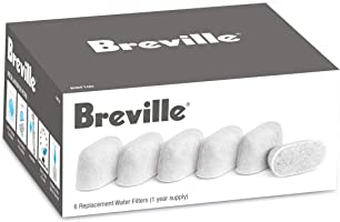 Breville BWF100 Water Filters, 6-Pack