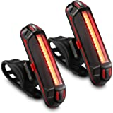 GPMTER Ultra Bright Bike Tail Light, USB Rechargeable Taillight, Waterproof Bicycle LED Rear Light for Road MTB Mountain Bike