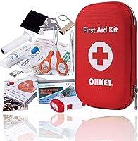 OHKEY 初代 套件 急救 122件 套装 波斯利摩 登山 户外 防灾 急救箱