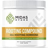 Rooting Gel for Cuttings – IBA Rooting Hormone - Cloning Gel for Strong Clones - Key to Plant Cloning - Midas Products Rootin