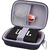 JBL GO2 Bluetooth ポータブルスピーカー 専用保護収納ケース- Aenllosi (ブラック)
