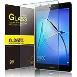 Huawei MediaPad T3 7.0 ガラスフィルム 【IVSO】 Huawei T3 7.0 液晶保護フィルム 強化ガラス・耐指紋、撥油性 表面硬度9H 厚み2.5D 高透過率液晶保護フィルム 反射低減タイプ 光沢表面仕様 画面保護&指紋防
