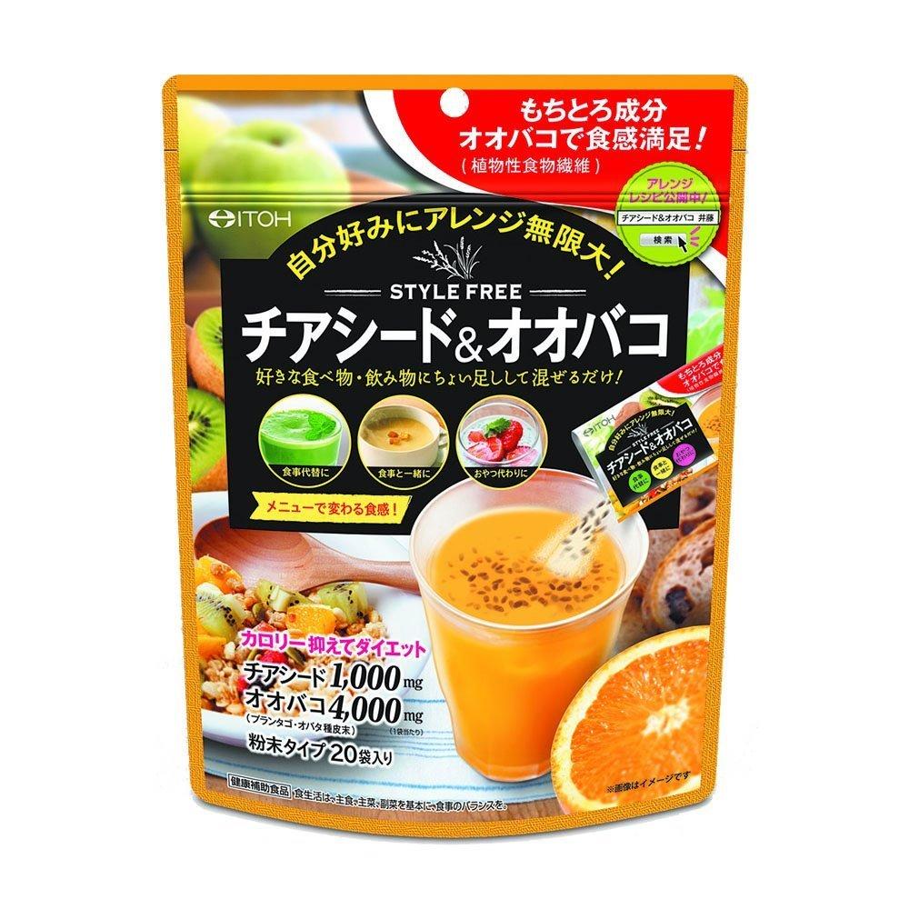 井藤漢方 製薬 スタイルフリー チアシード&オオバコ(5g*20袋入)