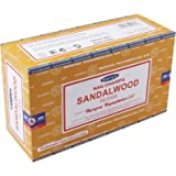 Satya Incense Sticks, Sandalwood, Black