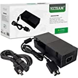YCCTEAM Power Supply Brick for Xbox One, [Newest Updated Version] AC Adapter Cord Replacement Charger for Xbox One with Cable