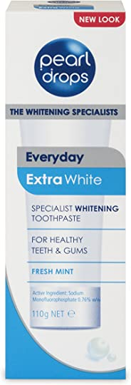 Pearl Drops Extra White Toothpaste, 110g