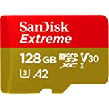 SanDisk Extreme 128GB MicroSD Card for Mobile Gaming, with A2 App Performance, Supports AAA/3D/VR Game Graphics and 4K UHD Vi